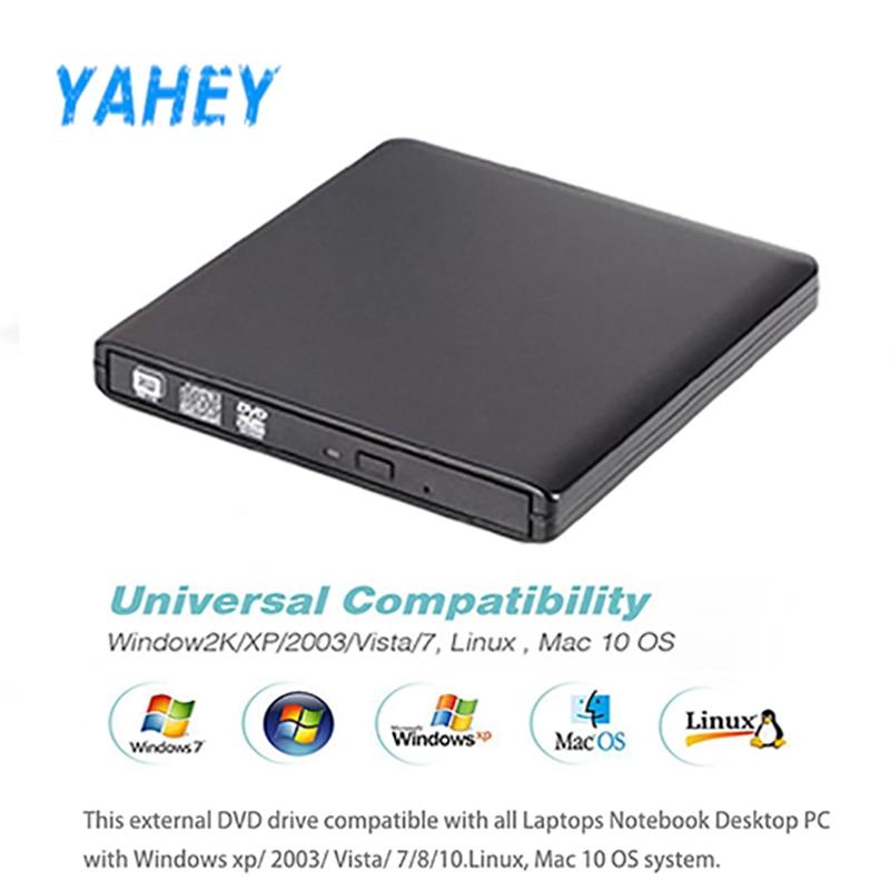 USB 3,0 High Скорость DL DVD-RW горелки CD Writer Внешний Оптический привод DVD portátil для Apple/hp ноутбуки, настольный ПК