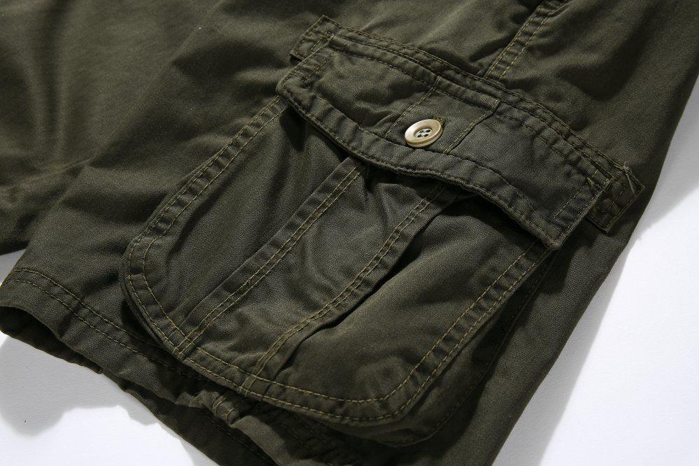 JOOBOX Men Clothes 2018 New Mens Cargo Shorts Male Loose Work Shorts Man Military Short Pants Justin Bieber FG5060
