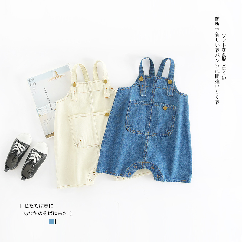 6338ecb4c Detail Feedback Questions about Hot Sale INS Style Vintage Baby Boys  Toddler Solid Front Pocket Overalls Children High Quality Overalls Infant  Denim Clothes ...