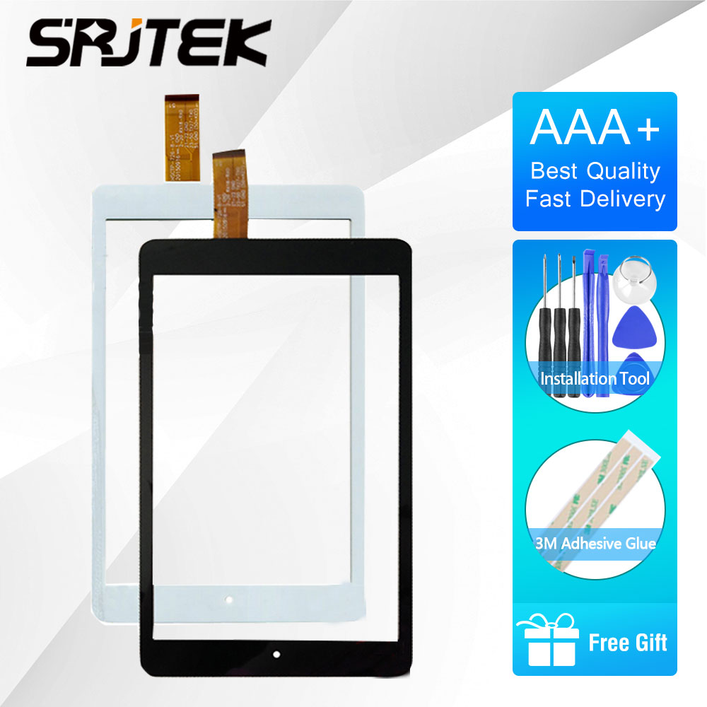 SRJTEK 8 Touch digitizer For Chuwi Hi8 pro CWI513 Tablet PC Touch Screen Digitizer Glass Sensor Replacement For Chuwi Hi8pro for samsung ativ smart pc xe500t xe500 xe500t1c a01 replacement touch screen digitizer glass 11 6 inch for tablet