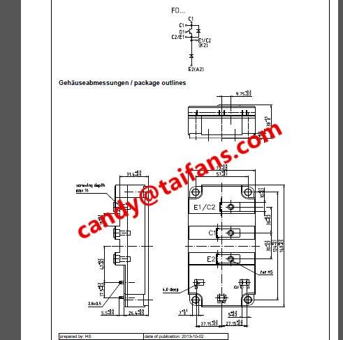 original new IGBT Module FD401R17KF6C B2 FD401R17KF6C_B2