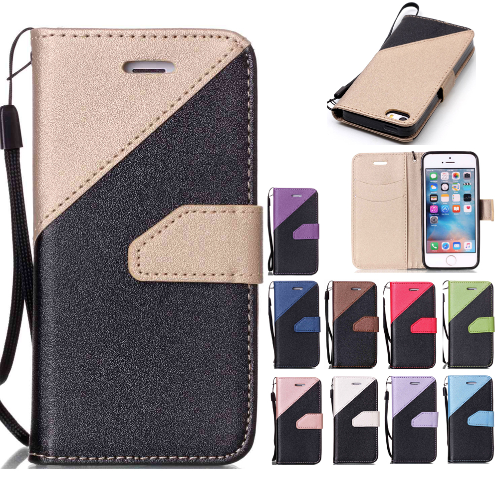 Wallet Flip Case For Sony Xperia XA F3111 F3112 F3113 Xperia XZ Fashion Hit Color Card Slot Leather Cover