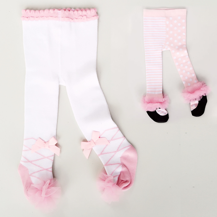 где купить 0-36M Baby Princess Tights Bow Yarn Lace Newborn Girls Stocking Toddler Infantil Menina Pantyhose Pink Ballet Girls Tights дешево