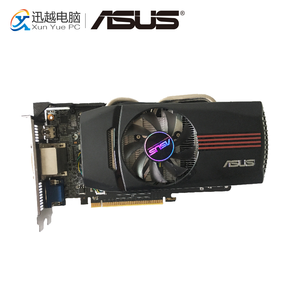 ASUS GTX650-DCO-1GD5 Original Graphics Cards 128 Bit GTX 650 1G GDDR5 Video Card VGA 2*DVI HDMI For Nvidia Geforce GTX650 new original for mgoy hd7450 1g 64bit ddr3 625 1066mhz for amd graphics card dvi hdmi vga