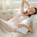 Free shipping sexy nightgown retro women's Summer Palace  s11