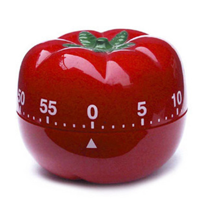 60 Minutes Digital Kitchen Timer Countdown Cooking Cute Red Tomato Count Down Up Tools Kc1367