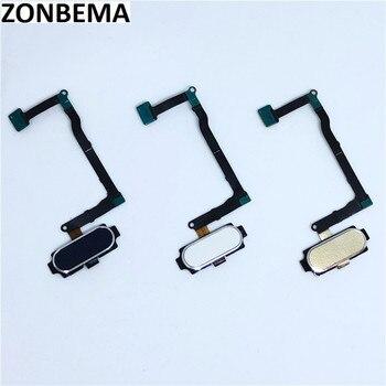 ZONBEMA 5 piezas Original Sensor de huellas digitales Touch ID inicio volver botón Flex para Samsung Galaxy Nota 5 N920 N920F n920C N920G