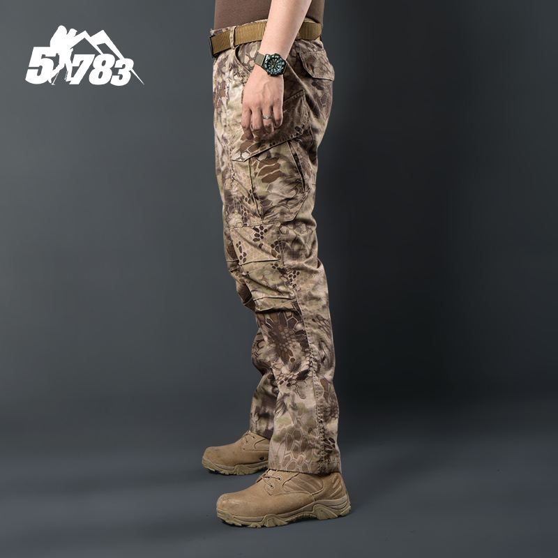 The new military enthusiasts 51783 basic hetzer python stripes tactical pants outdoor and anti-scrape wear-resisting the special