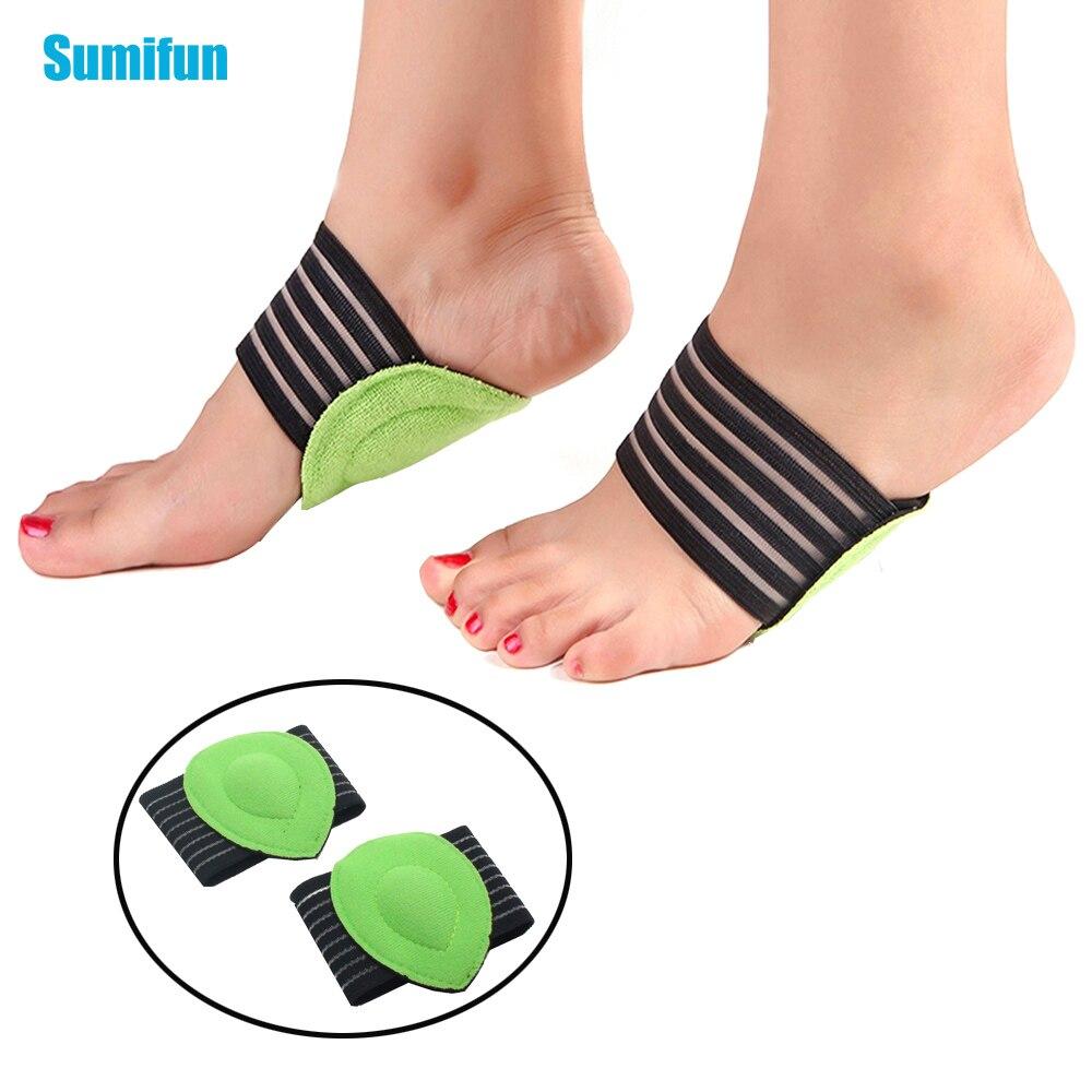 1 Paar Mode Fuß Massage Matte Elastische Weiche Gepolsterte Unterstützt Relief Für Arch Füße Lindert Plantarfasziitis Ferse Spurs Z23201 Novel (In) Design;