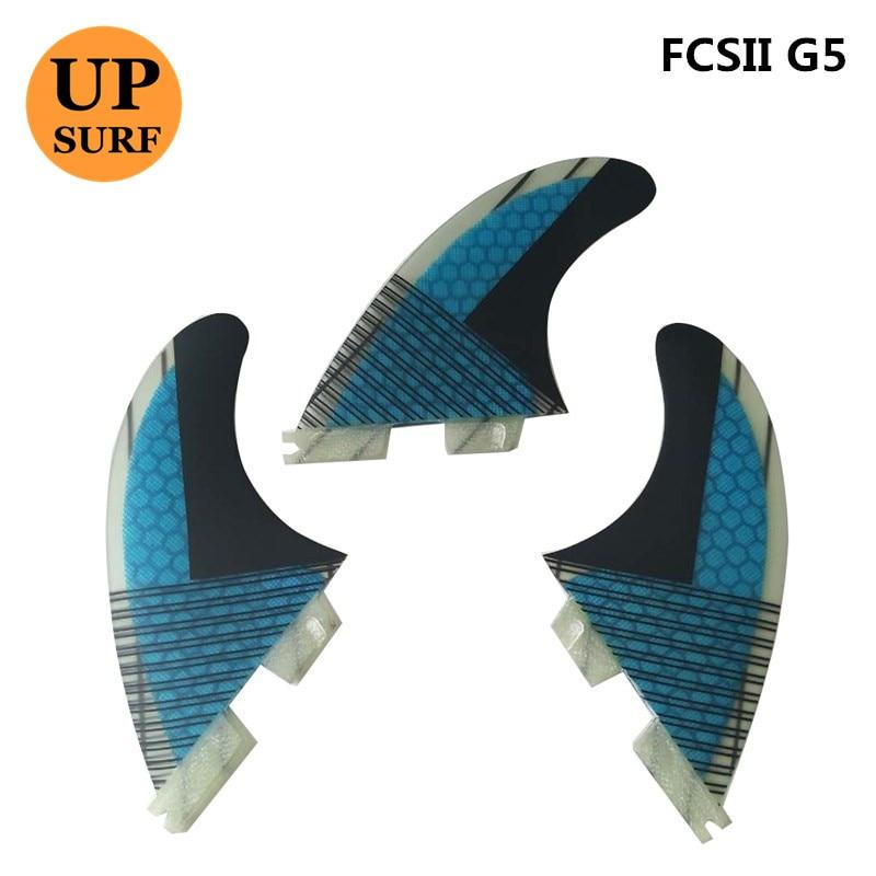 FCS2 Fins G5 Fiberglass Fiber Surf Fins FCS II Surfboard Fin 5 - Vattensporter