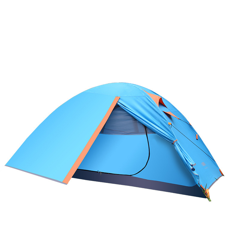 1-2 Person Beach Awning Tent Outdoor Camping Fiberglass Pole Water Resistance With Carry Bag For Hiking Traveling Fishing Tente outdoor 8 12 person tunnel big beach tent single layer portable large waterproof awning camping tente family free shipping zp98