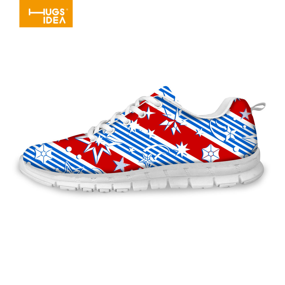British Style Stripe Printing Footwear Sport Trainers Shoes For ...