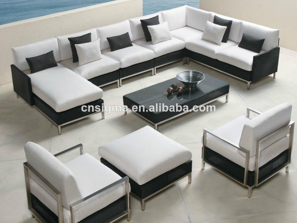 Comfortable outdoor furniture rattan sofa. Online Get Cheap Comfortable Garden Furniture  Aliexpress com