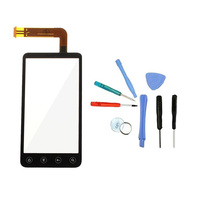 1 Piece Original Black Replacement Digitizer Handwriting Panel Touch Screen Repair Tool For HTC EVO 3D