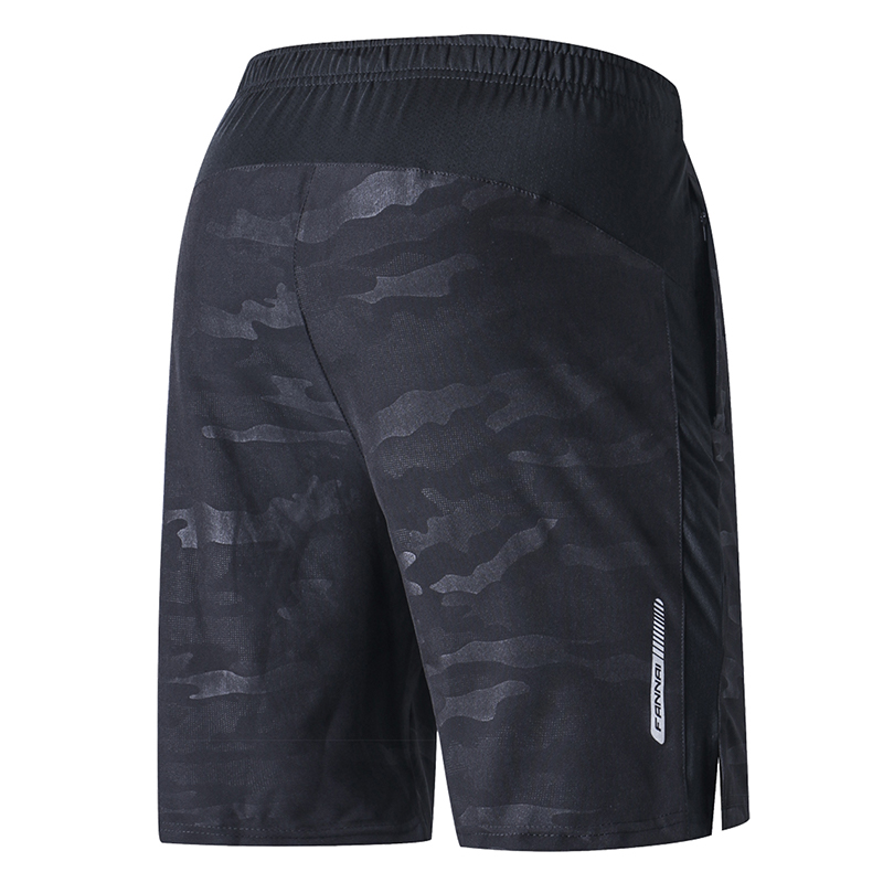 FANNAI Laufhose Männer Ausbildung Marathon Quick Dry Fitness Gym Druck Sport Shorts Mit Tasche Plus Laufhose Jogger