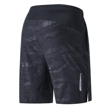 FANNAI Running Shorts Men Crossfit Shorts Quick Dry Men Fitness Shorts Gym Shorts Men Sport Shorts With Pocket Shorts For Men фото