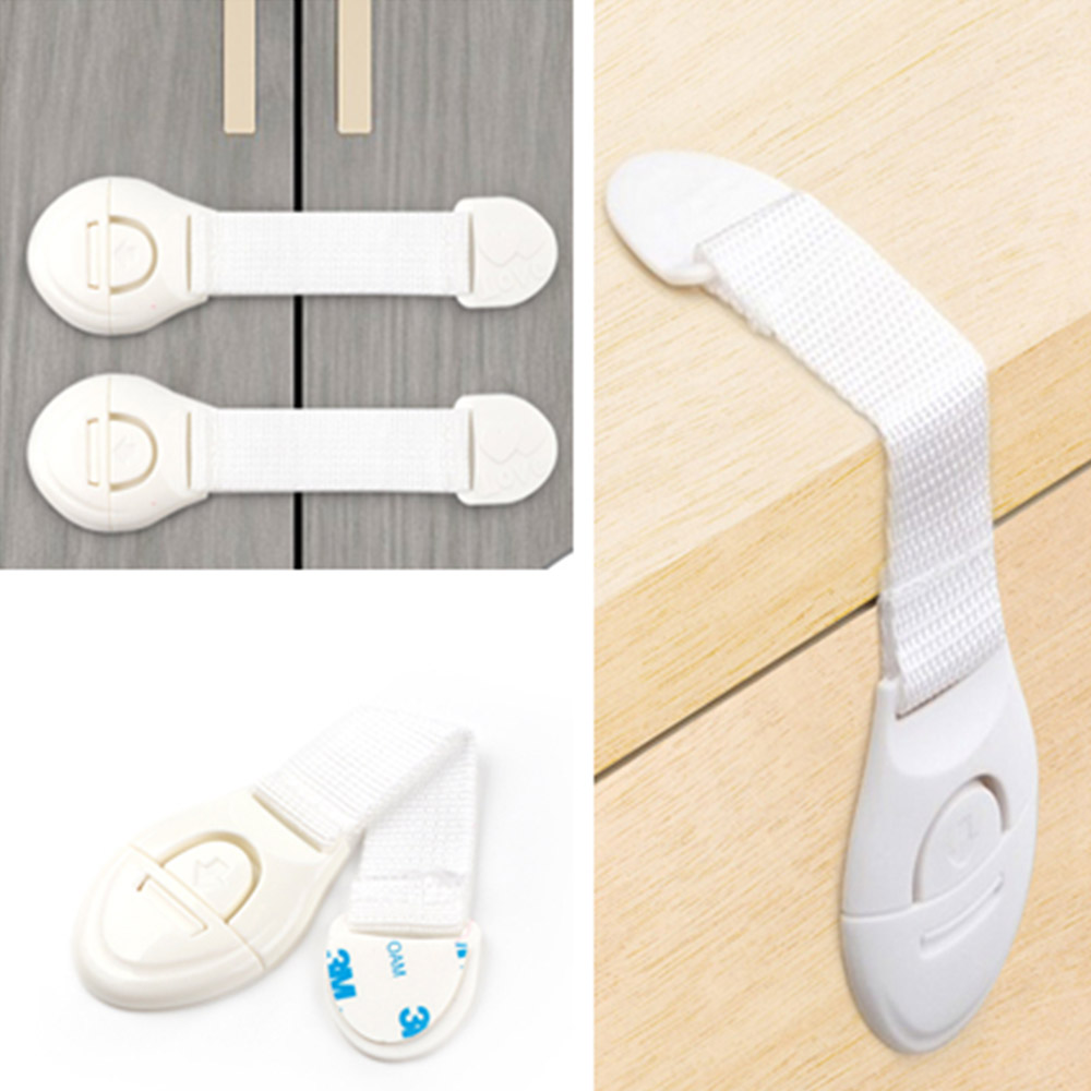 3pc <font><b>Baby</b></font> Drawer Lock Children Security Child Protection <font><b>Baby</b></font> Safety Care <font><b>Product</b></font> <font><b>Proof</b></font> Child Cabinet Lock image