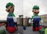 Giant Inflatable Luigi Model for Advertising