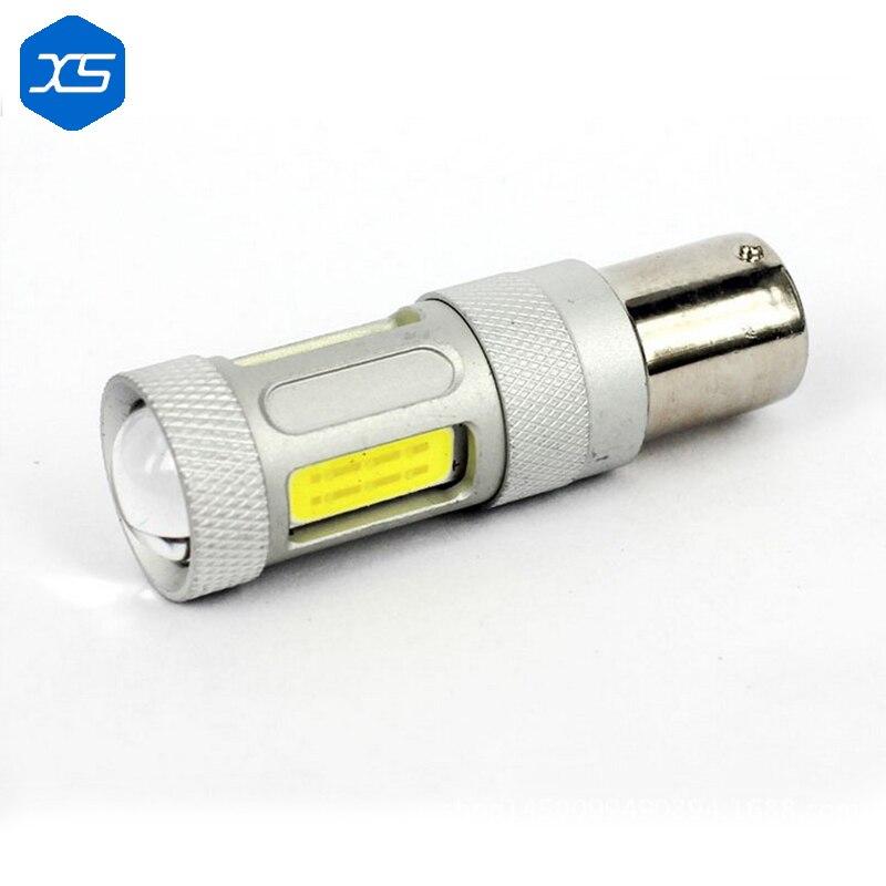 2X 80W 800lm H4 H7 H8/H11 9005/HB3 1156/1157 Led Projector Fog Lamp Lens Car Fog Driving Light Bulb for Universal Car