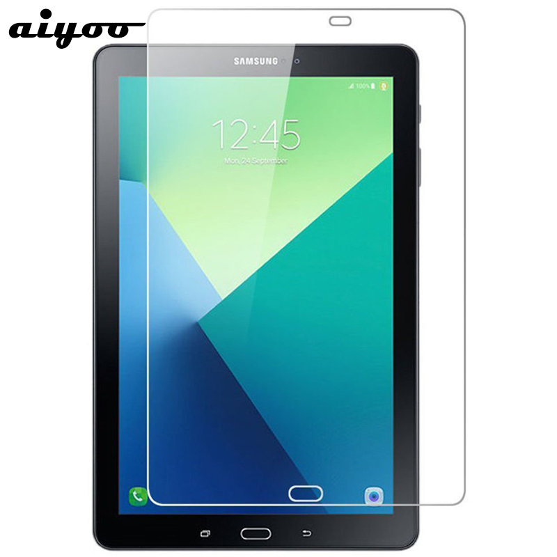 Aiyoo Tempered Glass for Samsung Galaxy Tab A 10.1 2016 with S Pen P580 P585 Screen Protector Film for Samsung Tab A6 10.1 P580 планшеты samsung tab