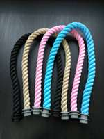 New 65Cm 1 Pair Soft Nature Rope Handle For Italy Obag O Bag Handles Handbag Strap