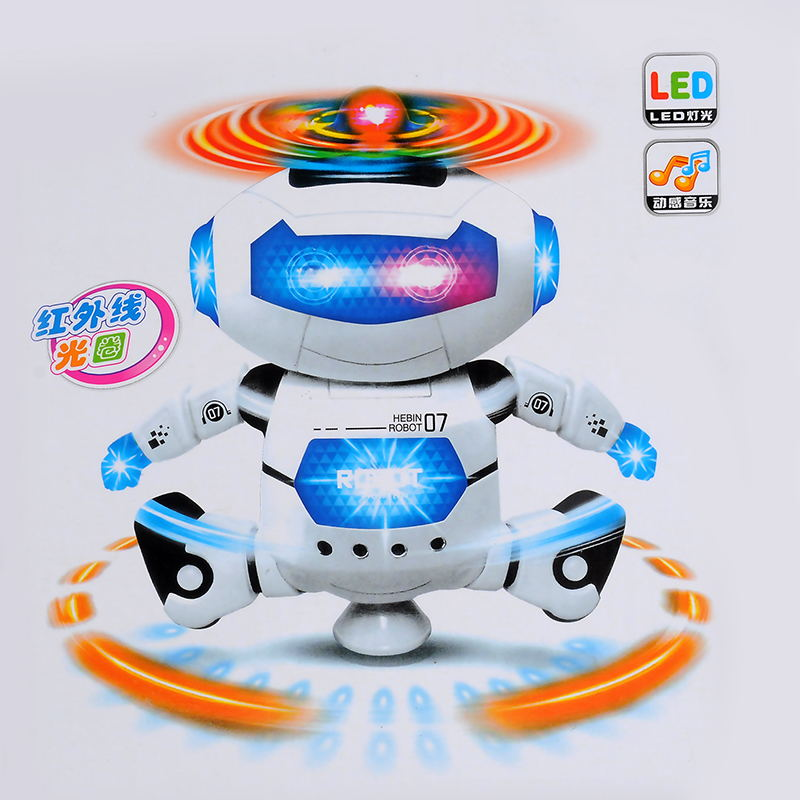 RC Robot Toy Remote Control Electronic Toy Robot Pet Walking Dancing Lightning Musical Toys For Children Kids Boy girl  Gift rc robot remote control electronic robots walk electric children boys gift