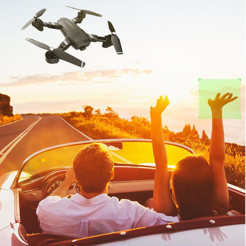 Professional Optical Flow Positioning Sefile WIFI Real Time RC Helicopter 20 Mins 1080P Dual Camera One Key Return FPV RC Done - 2