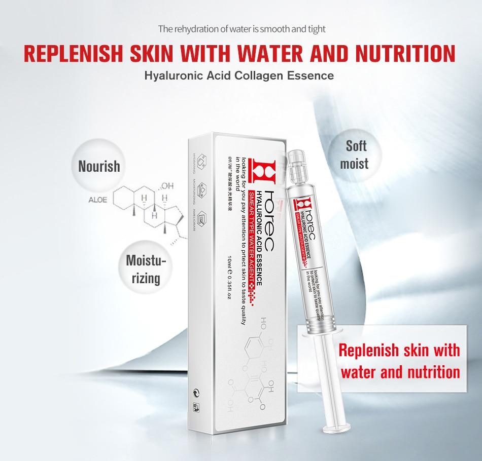 rorec hyaluronic acid injection face serum liquid tights anti wrinkle anti aging collagen facail essence moisturizing whitening [ 950 x 910 Pixel ]