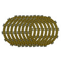 Motorcycle Clutch Friction Plates Set for HONDA NX650 NX 650 1988-1989 Clutch Lining #CP-00037