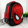 Children 3D Spiderman Cartoon School bag High Quality Kids Student Backpack Kindergarten Boy Bag Satchel Mochila InfInfantil