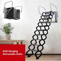 Бытовой набор инструментов наружная настенная подвесная выдвижная лестница ручная складная лестница портативная телескопическая лестниц