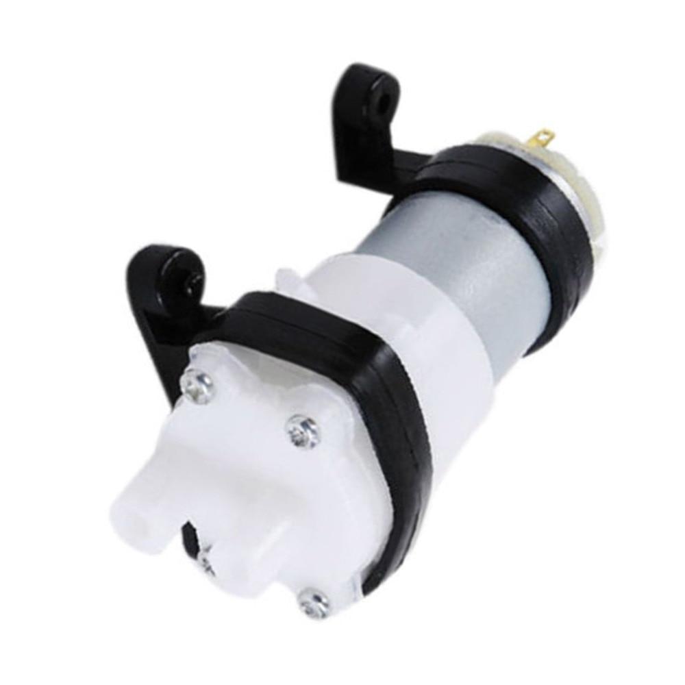 Neue Dc6-12v Membran Pumpe Multifunktions 385 Wasser Pumpe Mit Halterung Aquarium Pumpe Motor Für Auto Peeling Getreide Öl Mini Pumpe Attraktives Aussehen