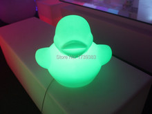 Free shipping waterproof  Luminous Colorful Duck LED night light lamp for kids,DUCK Night Lamp Children Christmas Gift