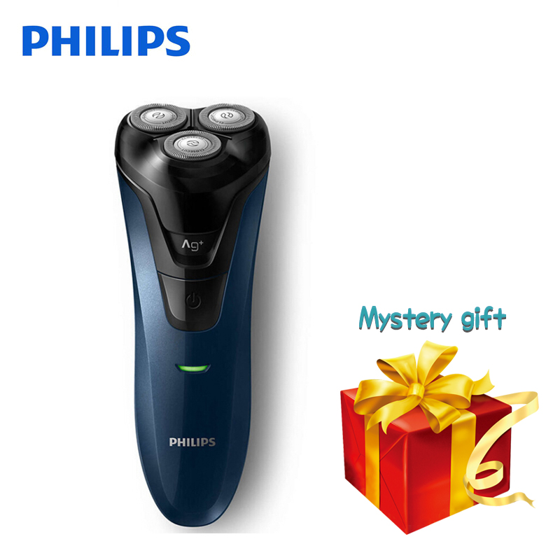 Original Philips Electric Shaver FT668 Rotary Rechargeable Washable For Men's Electric Razor Wet/Dry With Ergonomics Handle rechargeable washable wet dry hair clipper with accessories set 220v ac