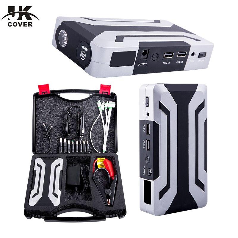 Car Emergency 12V Car Battery Jump Starter Booster Mini Portable Power Bank 1200A Peak Current Multi