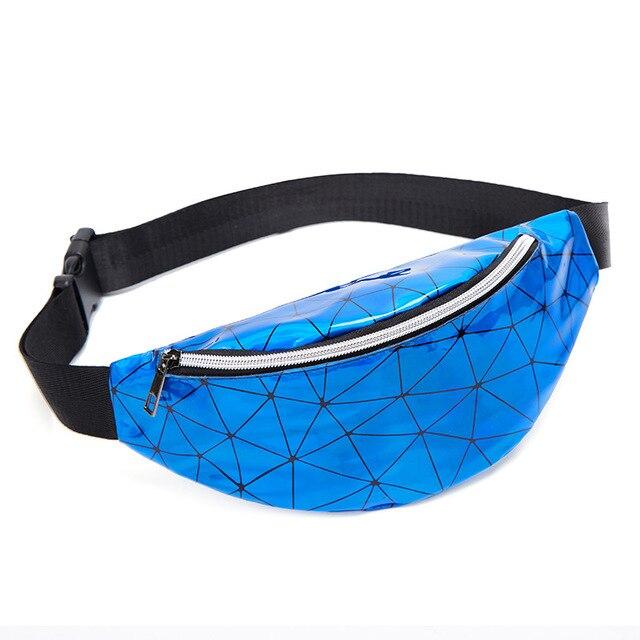 waist bag-blue