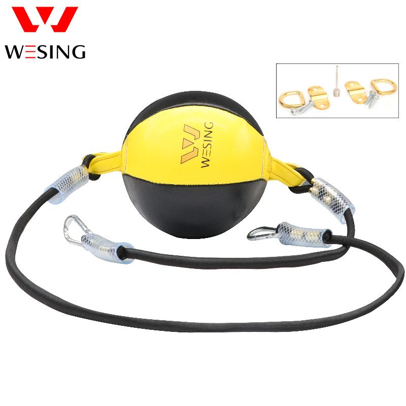 Wesing Punching Ball Muay Thai Speed Ball With Inflator Training Boxing Reflex Ball Speed Ball Trainer Quick Response