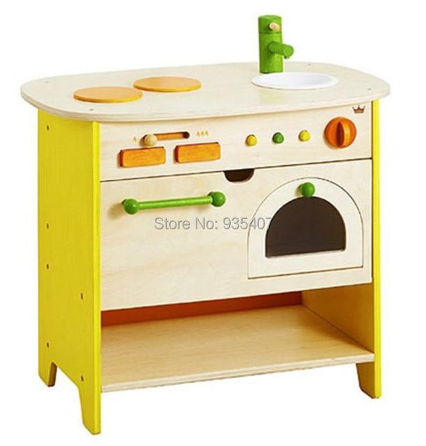 nouveau en bois jouet en bois armoire cuisine jouet bbaby. Black Bedroom Furniture Sets. Home Design Ideas