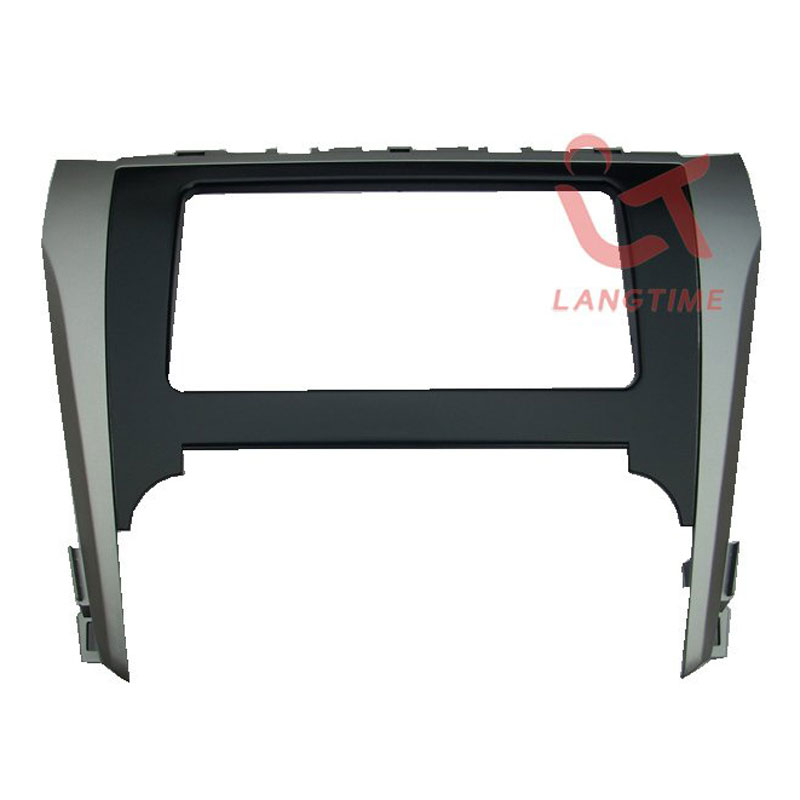 Free shipping Car refitting DVD frame DVD panel Dash Kit Fascia Radio Frame Audio frame for 2012 Toyota Camry 2 din in Fascias from Automobiles Motorcycles