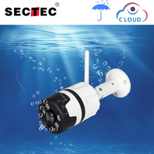 SECTEC Wifi Outdoor IP Camera 1080P 720P Waterproof Wireless Security Camera Two Way Audio Night Vision P2P Bullet CCTV Camera