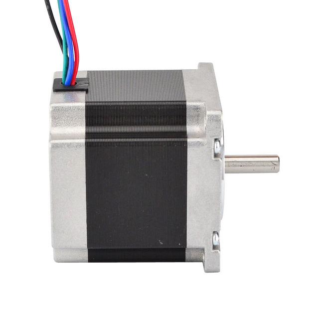 1PC Nema 23 Stepper Motor 23HS5628 1.26Nm(178.4oz.in) 4-lead 57 motor 56mm 2.8A 6.35mm Shaft for CNC Laser