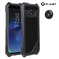Luxury Doom Armor Dirt Shock 3proof Metal Aluminum Cell Phone Case For Samsung Galaxy S8 S8