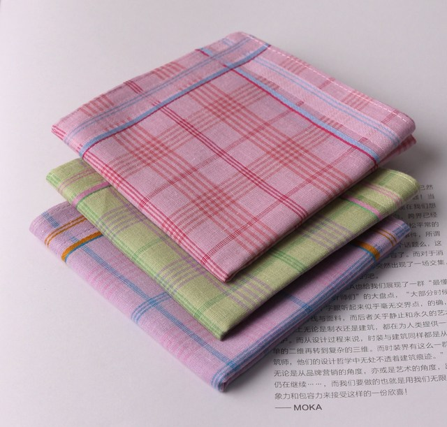 Fragrance women's handkerchief 100% cotton handkerchief 100% cotton handkerchief christmas gift