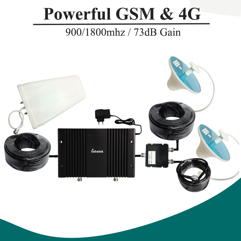 LCD Display 73dB Gain GSM 900mhz 4G LTE 1800mhz Mobile Phone Signal Booster Repeater GSM900 DCS Amplifier Repetidor Celular#33