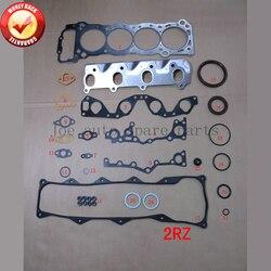 2RZ 2RZE silnika pełny zestaw uszczelek zestaw dla Toyota HIACE III kombi/pudełko 2.4L 2438cc 1989-1996 04111-75032 04111-75030 50126700