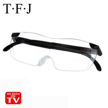 цена на Magnifying Presbyopic Glasses Eyewear Reading 160% Magnification to See More and Better Magnifier Portable