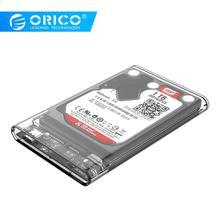 ORICO 2139C3 Type C Hard Drive Enclosure UASP 2.5 inch Transparent USB3.1 Hard Drive Enclosure Support UASP Protocol