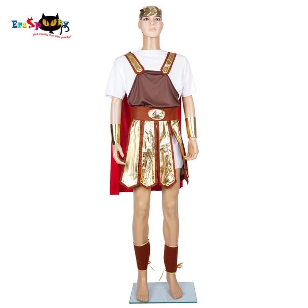 Soldaat Cosplay Heren Roman Warrior Kostuum Centurion Gladiator - Carnavalskostuums