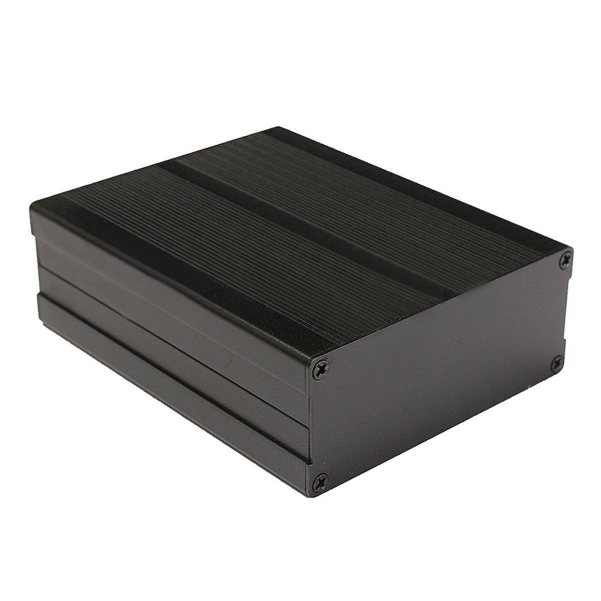 New Black Corrosion Resistant Aluminum Box Enclosure Instrument Case Mayitr Split Body Electronic DIY Project Cases 120*97*40mm 1pc electronic project instrument box black aluminum enclosure case 100x66x43mm mayitr with corrosion resistance