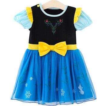 a2ea005042a Product Offer. Летнее платье принцессы Эльзы для девочек